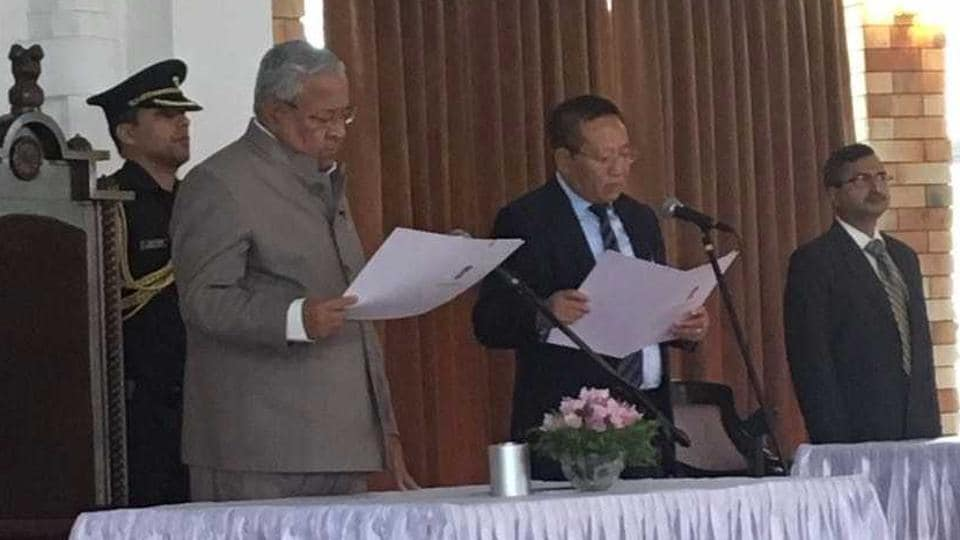 TRZeliand was appointed the Nagaland chief minister on Wednesday.