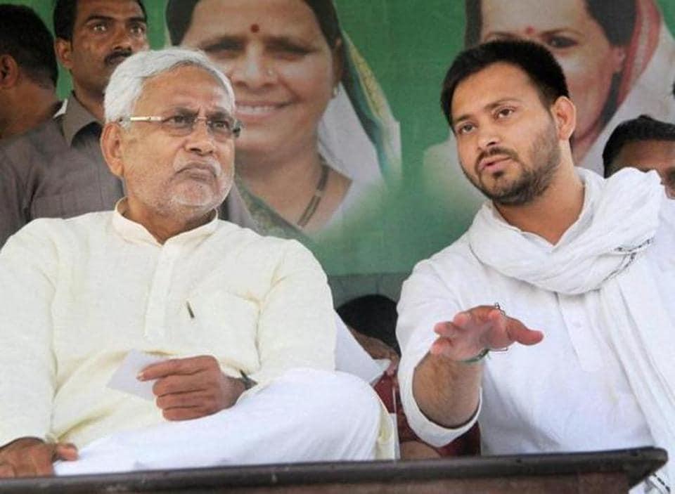 Suspense on as Tejashwi Yadav meets Nitish Kumar