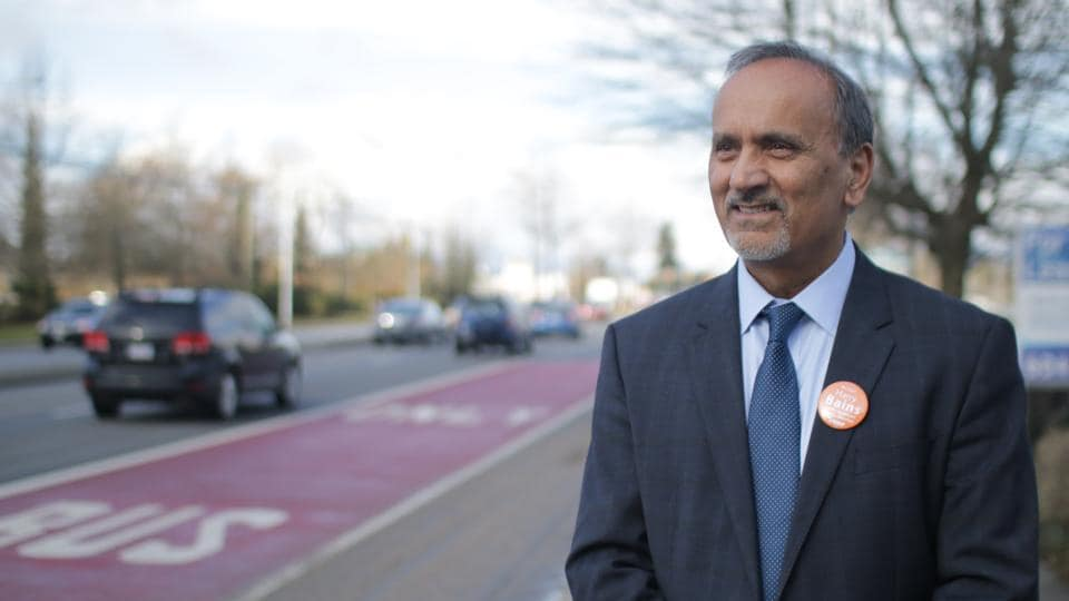 Harry Bains, who was appointed labour minister in the new provincial government in the Canadian province of British Columbia.