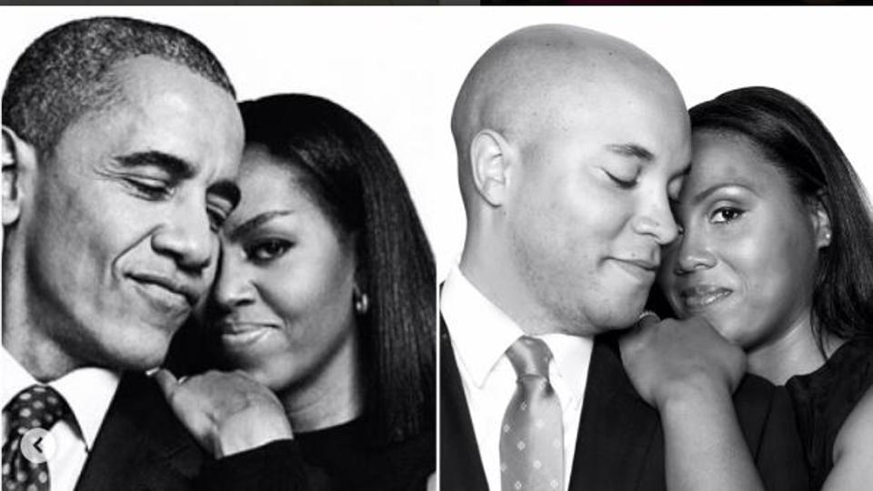 Barack Obama,Michelle Obama,Essence