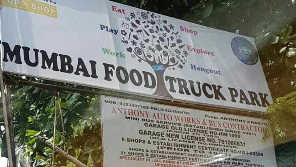 The food truck at Perry Road in Bandra.