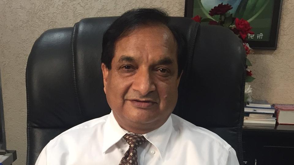 BFUHS vice-chancellor,Dr Raj Bahadur,allotment