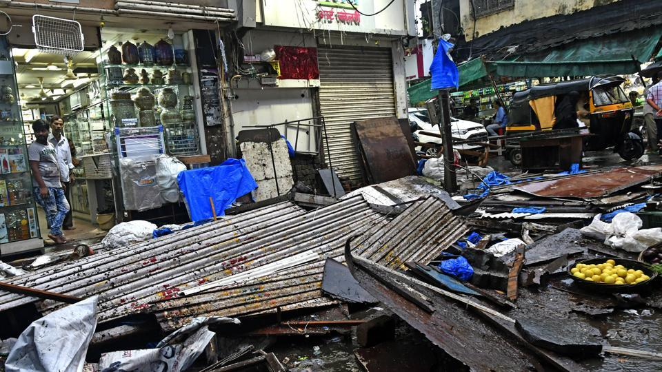 Mumbai city news,Demolition,Illegal shop extensions