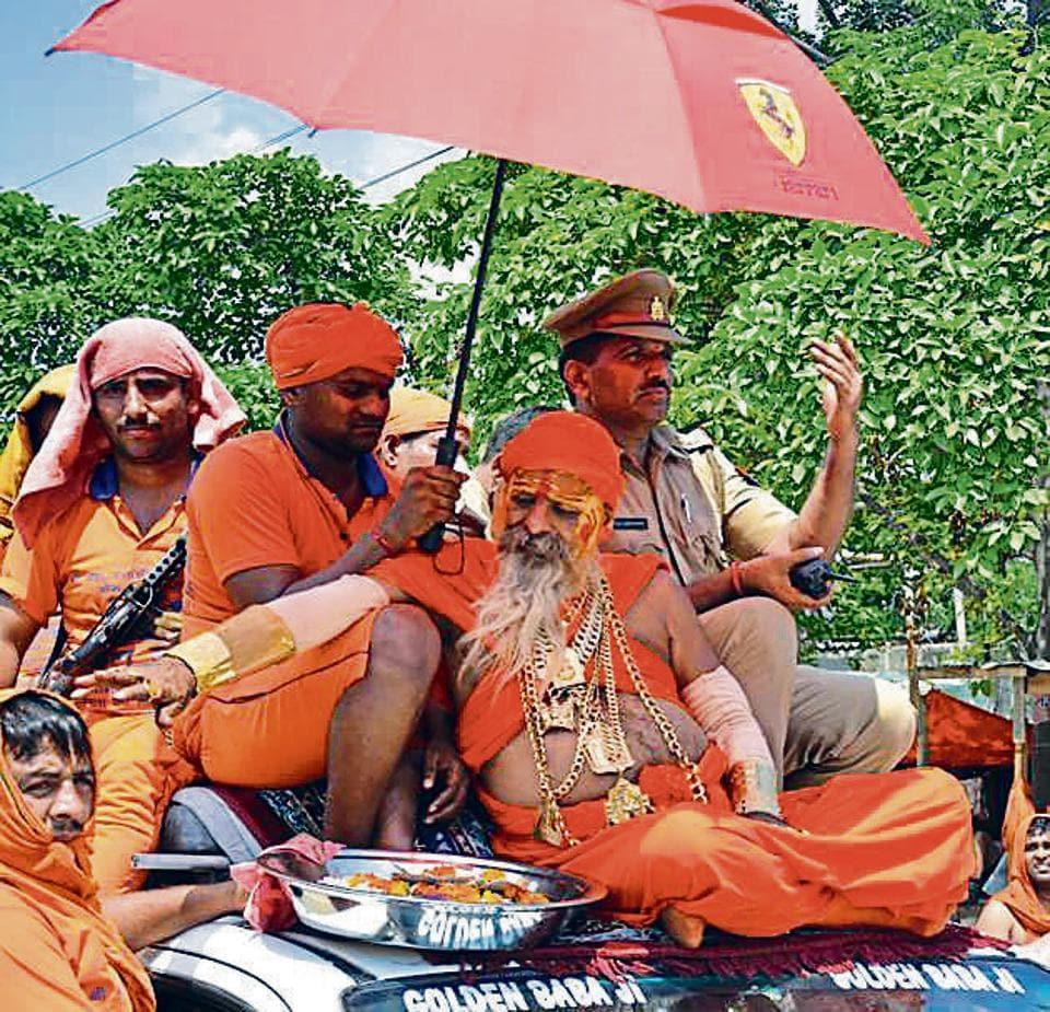 Golden Baba,Kanwar yatra,Kanwariyas