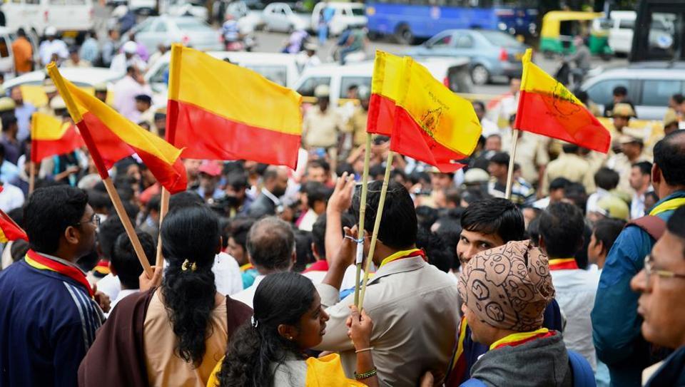 Karnataka,TB Jayachandra,Karnataka Flag