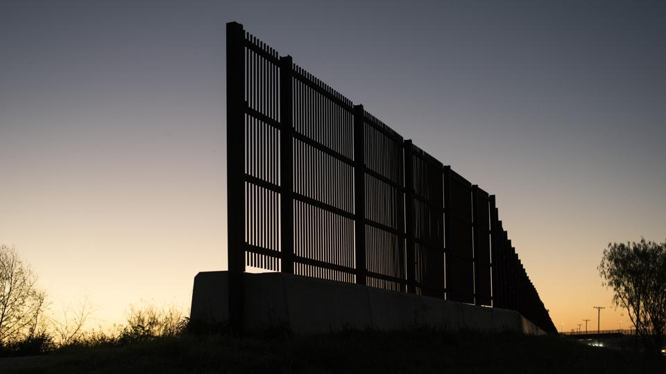 House bill funds just 28 miles of Trump's border wall