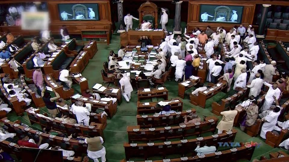 parliament monsoon session day 3 lok sabha session ends late at