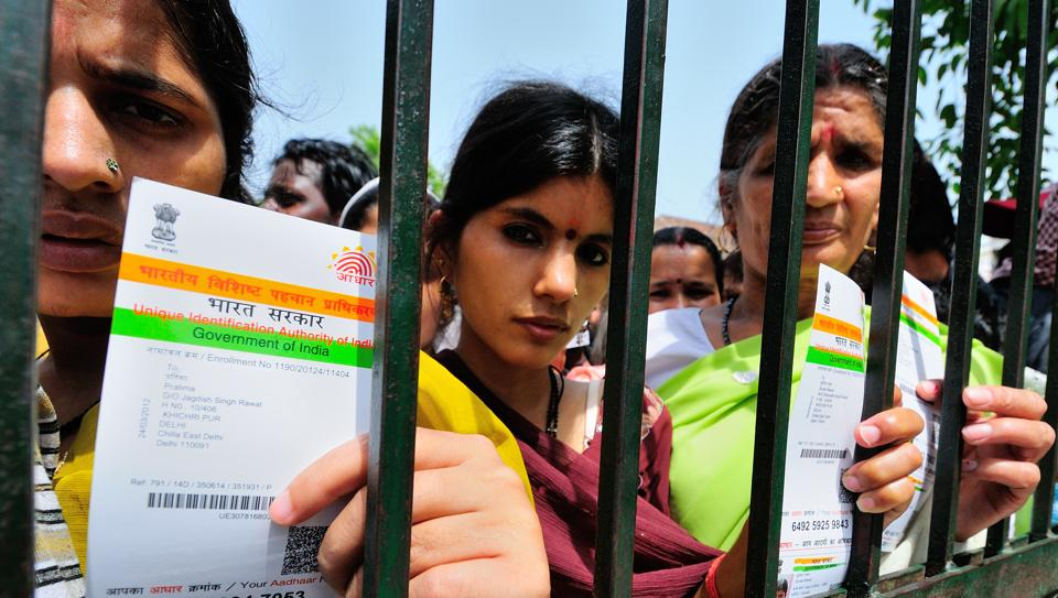 An Aadhaar card, containing a 12-digit identification number, is issued to individuals after collecting their biometric data such as retina scan and fingerprints, making them virtually tamper-proof.