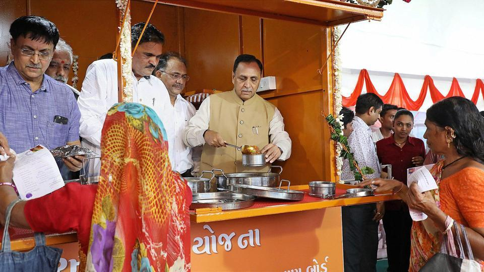 Gujarat,Amma Canteen,Subsidised food