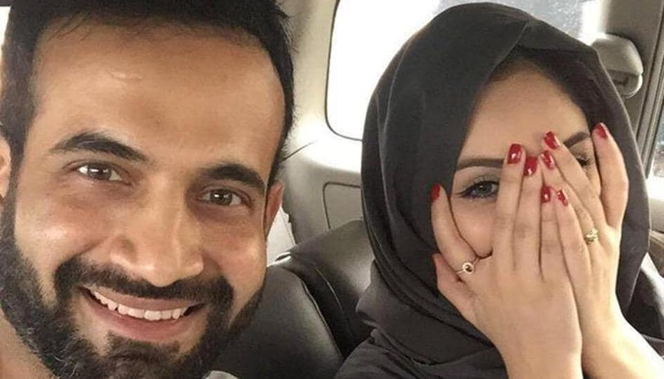 Irfan Pathan was trolled on social media for  posting her wife's photograph where the trolls complained she was exposing her hands and wearing nail polish