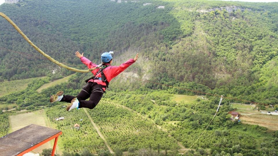Adventure,Travel,Bungee jumping