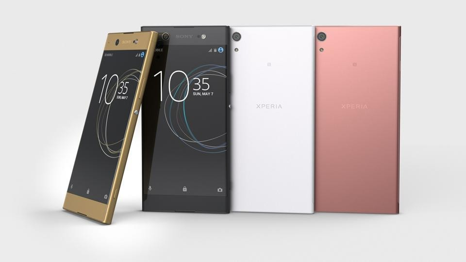 Sony's Xperia XA1 Ultra phones