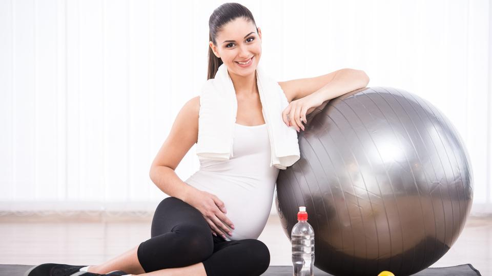 It's a misconception that pregnant women shouldn't exercise because it may harm the baby.