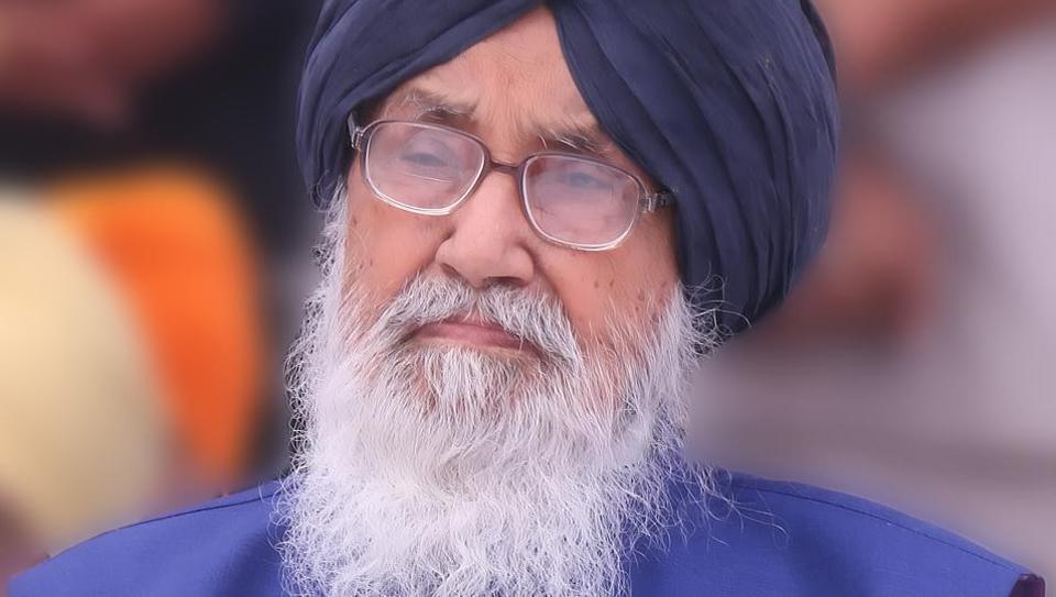 Former Punjab chief minister Parkash Singh Badal,SAD,NDA