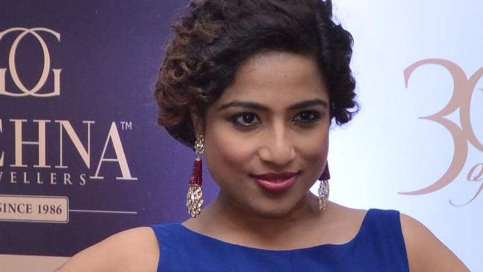 Mumbai, March 15, 2016 : RJ Malishka attended a party in Mumbai.