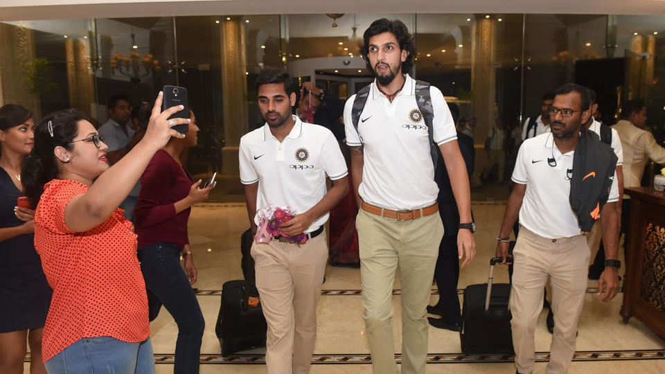India's pace line-up including Ishant and Bhuvneshwar Kumar would be crucial to the team's chances.  (AFP)