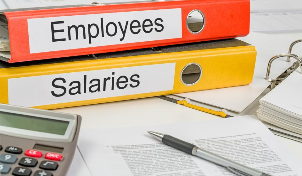 At BSE's blue chip companies, top executives' salaries have grown at a slower pace compared to overall employee costs for the first time in two years.