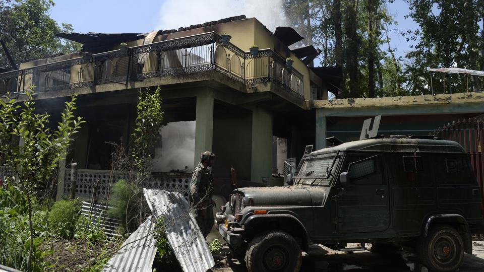 Army vehicle,Shopian,Kashmir