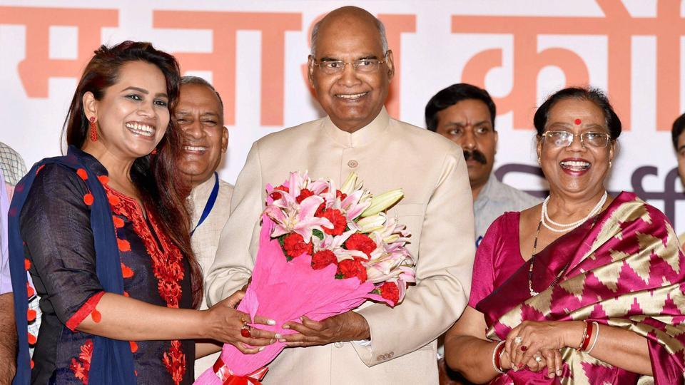 Dalit leader Ram Nath Kovind elected India's new president