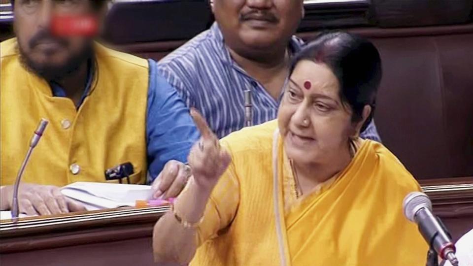 Sushma Swaraj,narendra modi,H-1B visa