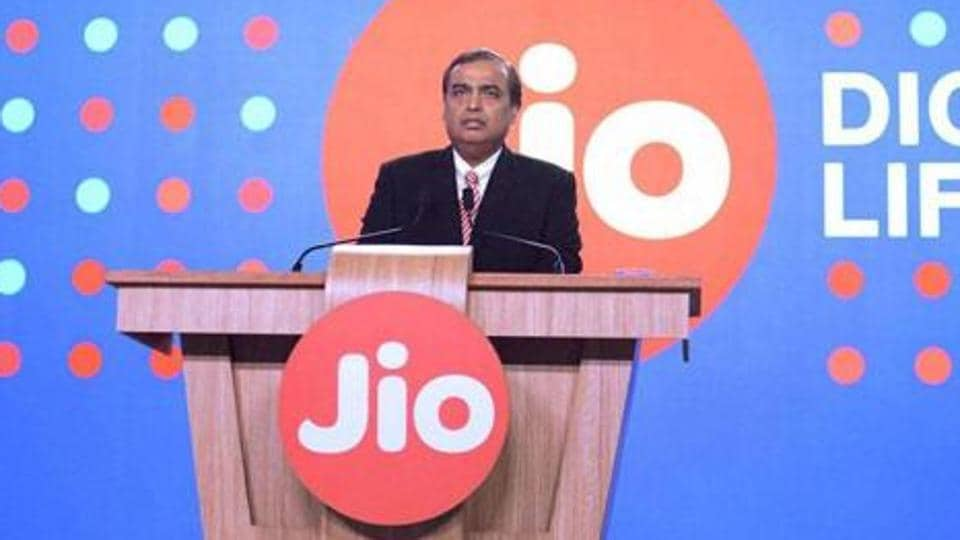 Reliance Industries Limited Chairman Mukesh Ambani speaks during a press briefing of Reliance Jio, in Mumbai on December 1, 2016.