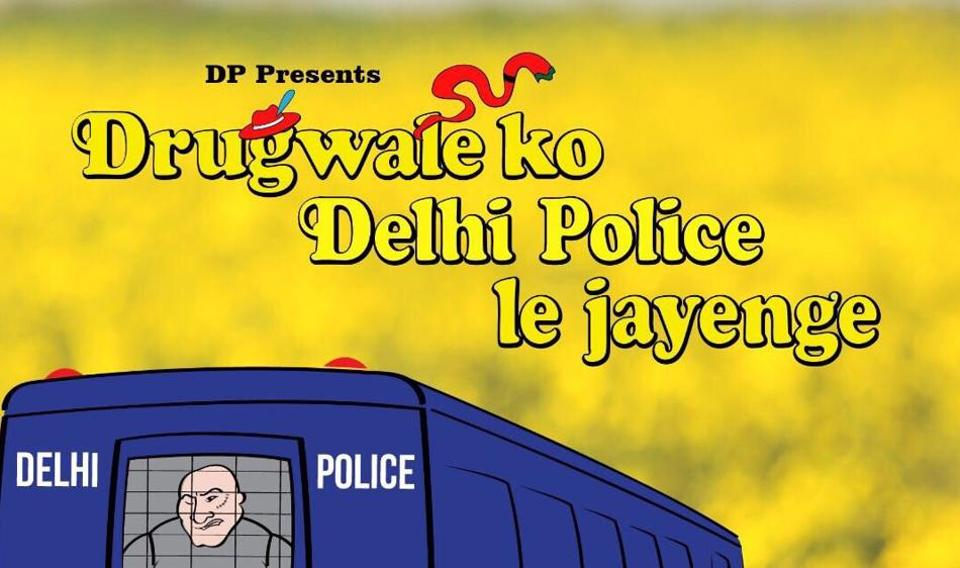 Delhi Police takes up serious issues with a pinch of humour