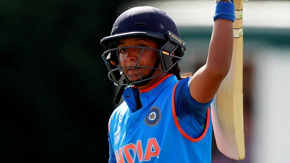 Harmanpreet Kaur powered India into the Women's Cricket WorldCup final after they defeated Australia by 36 runs in the semi-final on Thursday. (Reuters)