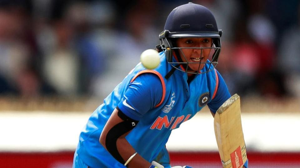 Harmanpreet Kaur went on to play one of the greatest innings witnessed in women's limited overs cricket. (Reuters)