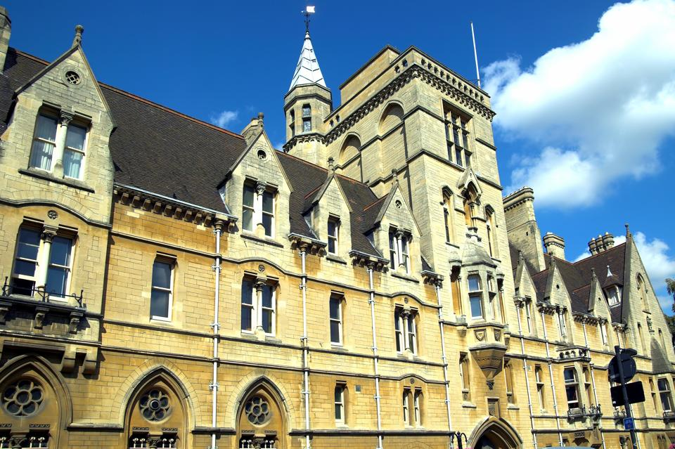 Balliol College is one of Oxford's oldest colleges