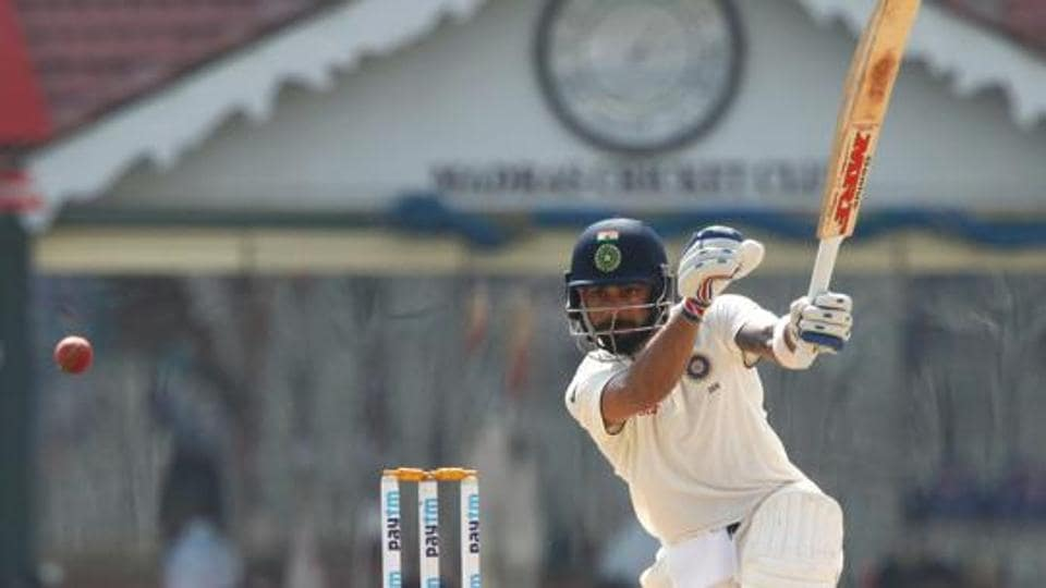 Virat Kohli and Ajinkya Rahane were batting when Day 1 of the warm-up game against Sri Lanka Board President XI came to an end.  Get full cricket score of India vs Sri Lanka Board President's XI here.