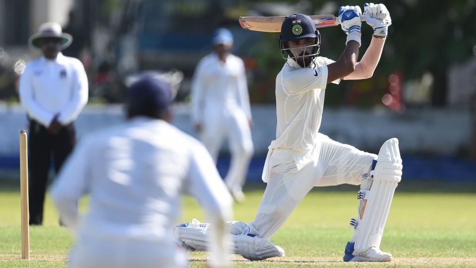 Lokesh Rahul was the highest scorer for India with a 58-ball-54.  (AFP)