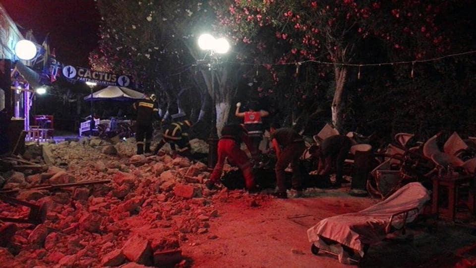 Greece,Kos,Earthquake