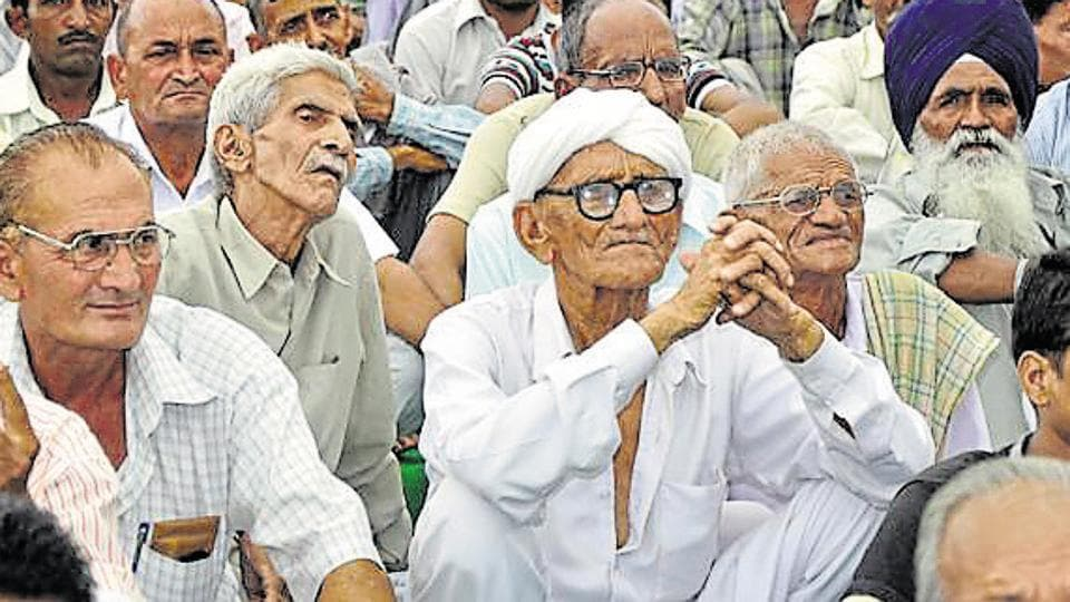 A new pension scheme will be launched for the elderly with 8% fixed rate of interest on their savings. (HT Photo / Representational)