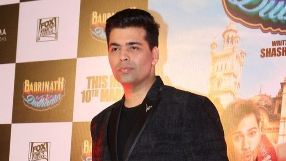 Karan Johar is currently dealing with the nepotism debate.