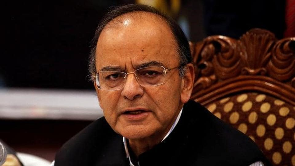 Finance and defence minister Arun Jaitley attends a seminar with state finance ministers.