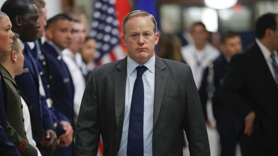 Sean Spicer resigns after six months as White House press secretary