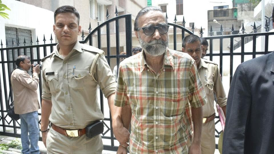 Moninder Singh Pandher was arrested after the court's verdict and sent to Dasna jail.
