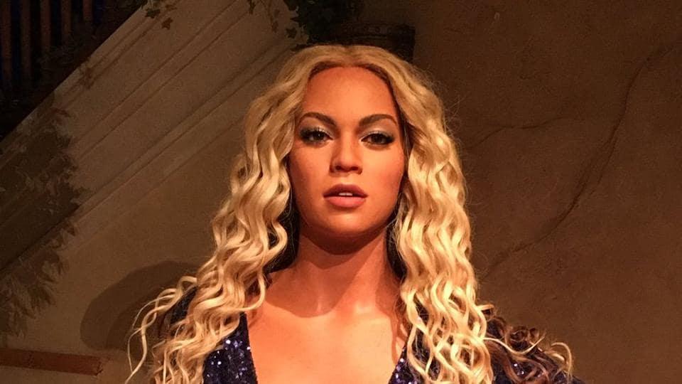 Beyonce,Madame Tussauds,Wax Figure