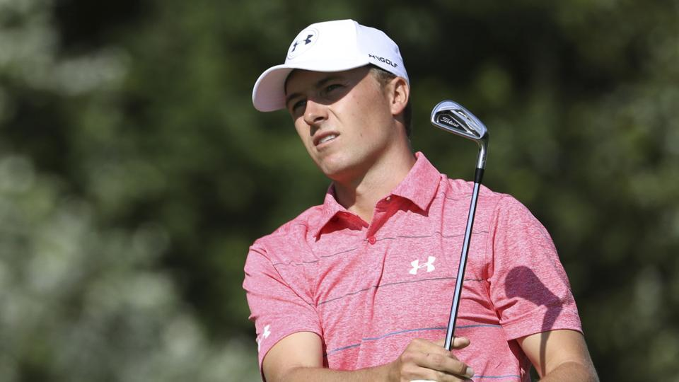 Jordan Spieth is currently in the lead at the British Open while India's Anirban Lahiri missed the cut.