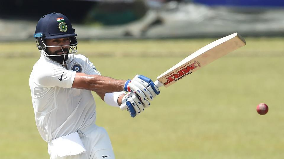 Virat Kohli scored 53 in the two-day warm-up match between Sri Lanka Board President's XI and India in Colombo. (AFP)
