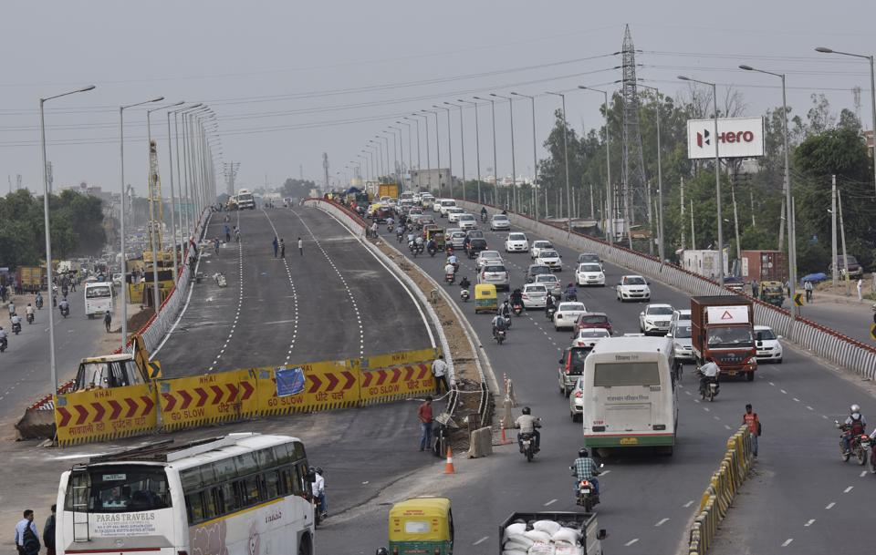 The Hero Honda Chowk flyover will be inaugurated by Haryana chief minister Manohar Lal Khattar