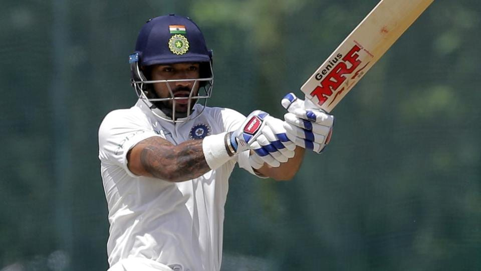 Shikhar Dhawan too looked solid in the middle as he scored 41 off just 48 balls with seven boundaries.  (AP)
