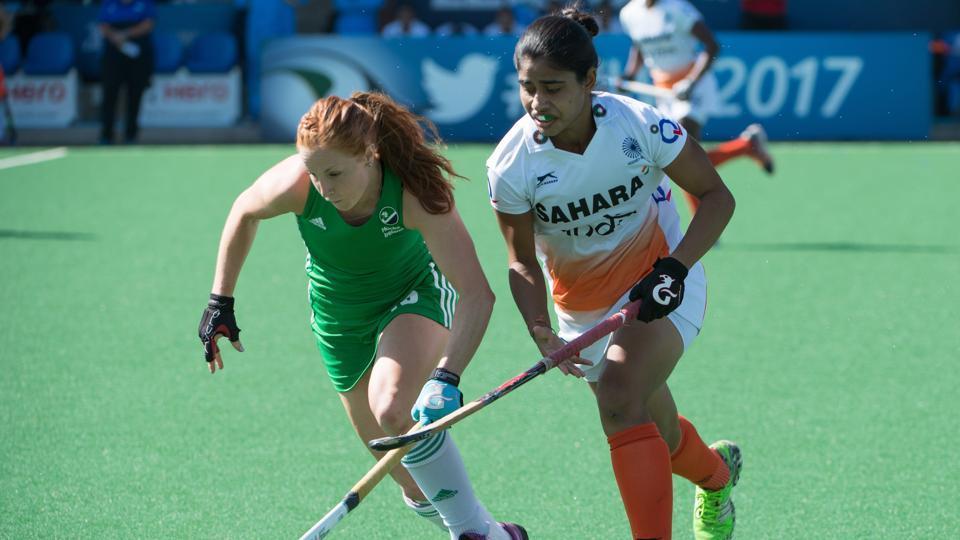 Hockey World League Semi-Final,India vs Ireland,India women's national field hockey team