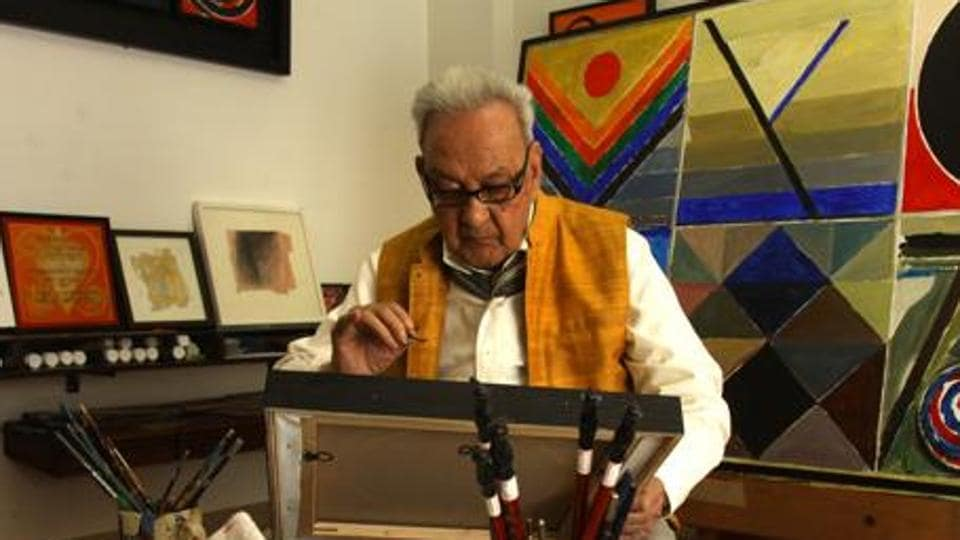 Raza, who died on this day last year at the age of 94, went on to marry French contemporary artist, Janine Mongillat, and lived on in Paris for over half a century.