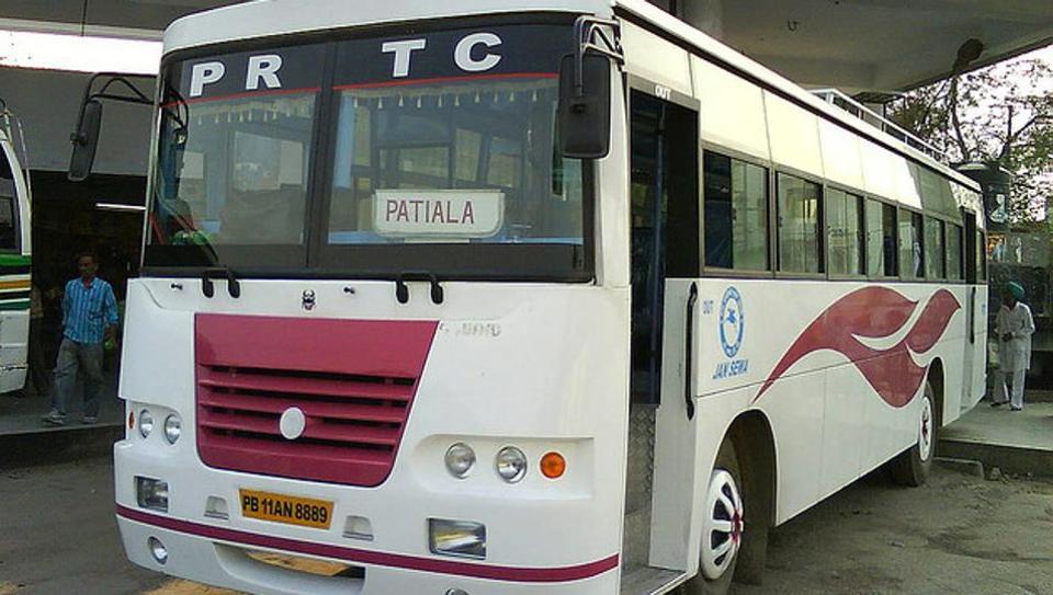 PRTC,Punjab transport buses
