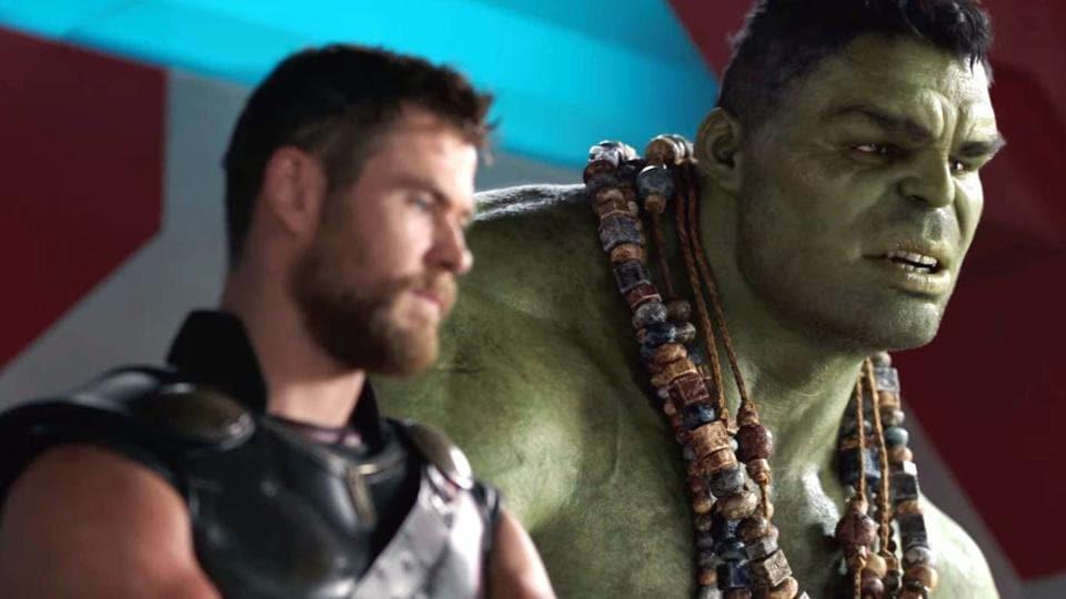 Thor Ragnarok,Hulk,Chris Hemsworth