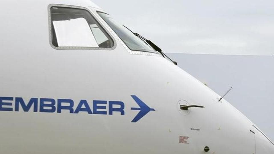 Brazilian aircraft maker Embraer is accused of paying kickbacks for getting defence contracts in India and some other countries.