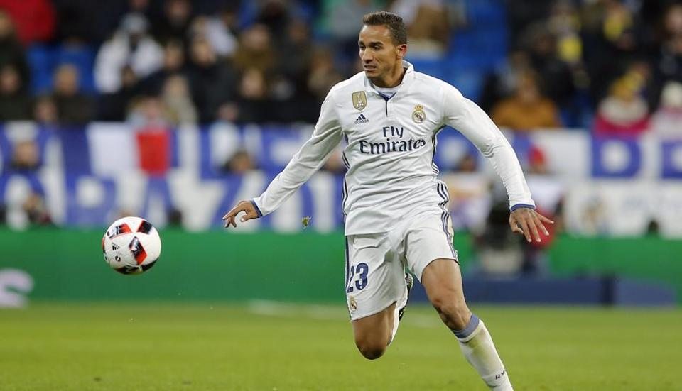 Danilo signed for Real Madrid in 2015 from FC Porto