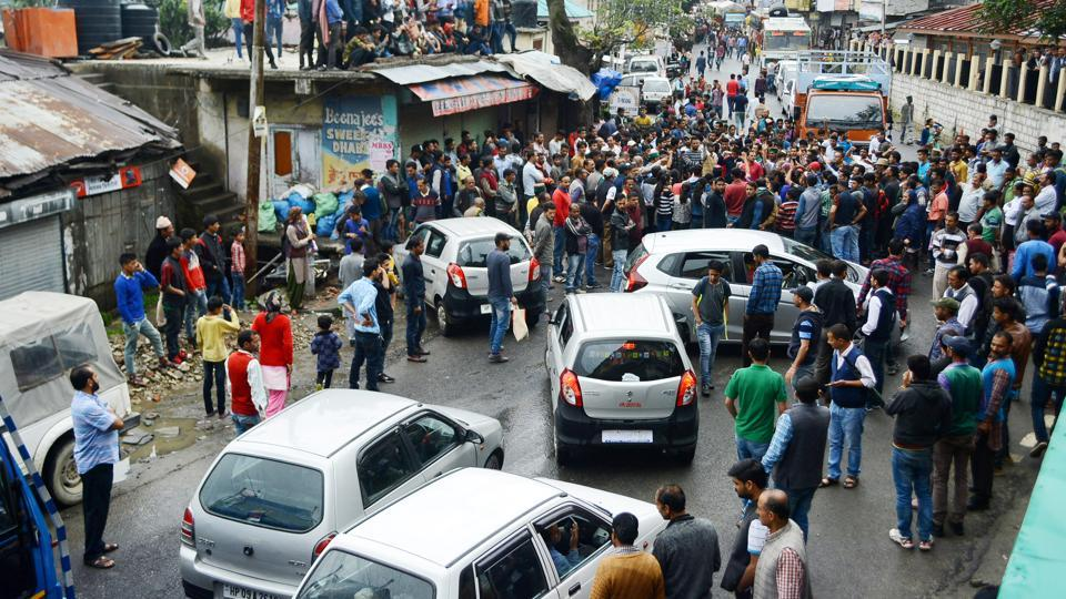 Shimla minor rape, murder case: Locals block NH-5