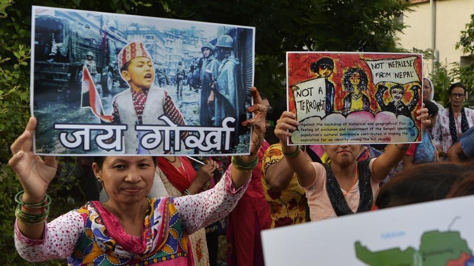 Gorkhaland,Gorkha,Darjeeling standstill